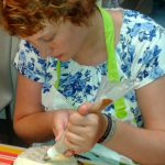 workshop taart decoratie beginners botercreme bloemen