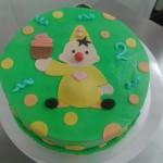 bumbataart feest cupcake groen 2 jaar