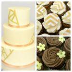 huwelijkstaart cupcakes ganache