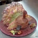 Kalkoen taart thanksgiving botercreme frosting