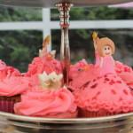 prinsessen cupcakes botercreme roos verjaardag