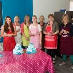 vrijgezellenworkshop bruidstaart bakken versieren taart cupcakes