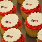 happy newyear 2015 cupcake