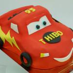 cars bliksem mcqueen auto taart 3D