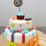snoeptaart 5 jaar bolletjestaart cupcake