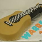 gitaar taart 3D