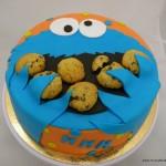 COokiemonster taart geel kempen oranje koekjes