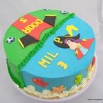 tweethemataart duo thema piet piraat voetbal