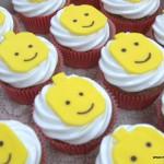 Lego mannetje cupcakes marshmallow geel olen kempen herentals mol kasterlee turnhout tessenderlo ham