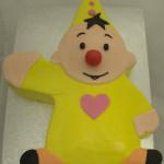 Bumba uitgesneden (3D) taart suikerpasta themataart