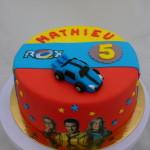 Rox 3 kleuren taart print