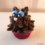 versierde cupcake kinderen feestje hond