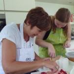 workshop taart decoratie beginners botercreme bloemen dessertbordje