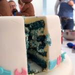 Gendertaart blauw - een jongen