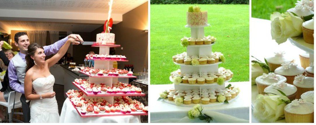 huwelijksgebak banner anouchkas piece of cake